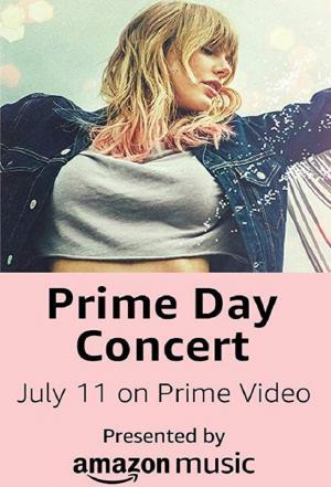 Affiche Amazon Prime Day Concert