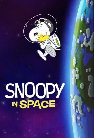 Affiche Snoopy dans l'espace