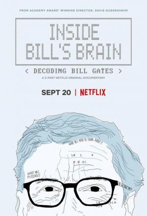 Affiche Dans le cerveau de Bill Gates