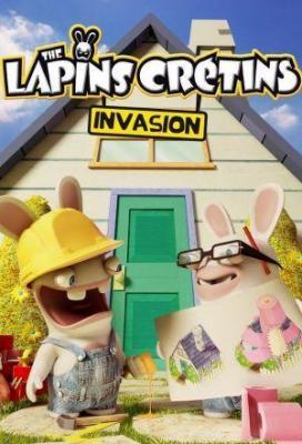 Affiche Les Lapins crétins : Invasion