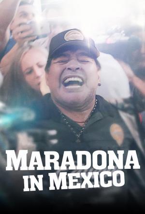 Affiche Maradona au Mexique