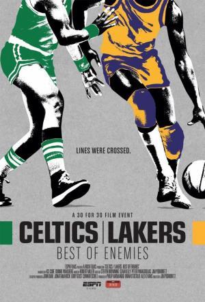 affiche Celtics/Lakers: Best of Enemies
