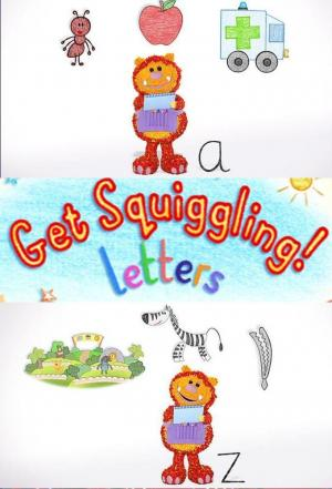 Affiche Get Squiggling! Letters