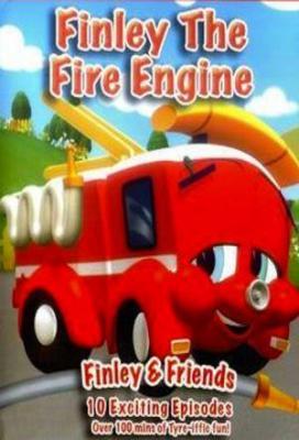 Affiche Finley le camion de pompier