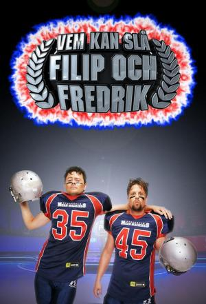 Affiche Vem kan slå Filip och Fredrik