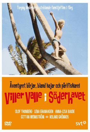 Affiche Villervalle i Söderhavet