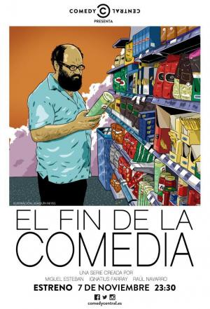 Affiche The End of Comedy