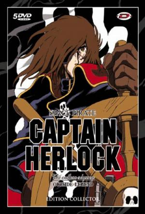 Affiche The Adventures of Captain Harlock