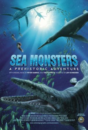 Affiche Les Monstres du fond des mers