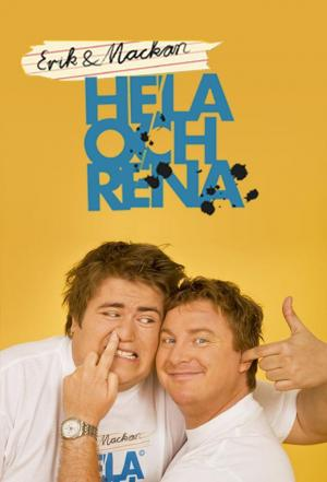 Affiche Erik & Mackan: Hela Och Rena