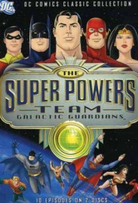 Affiche The Super Powers Team: Galactic Guardians
