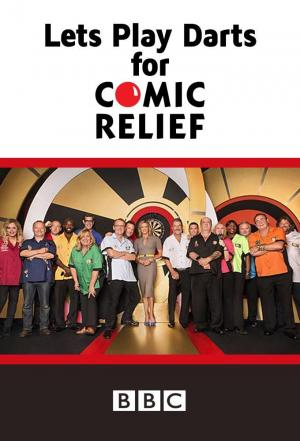 Affiche Let's Play Darts for Comic Relief