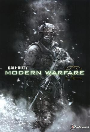 Affiche Modern Warfare 2 meets Metal Gear Solid