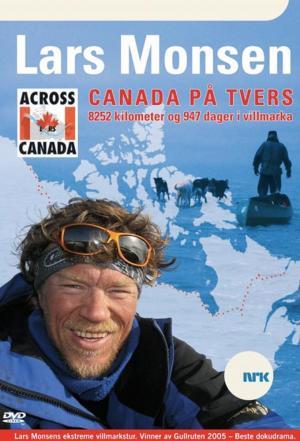Affiche Canada på tvers med Lars Monsen
