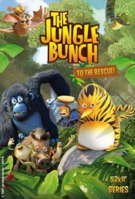 Affiche Les as de la jungle