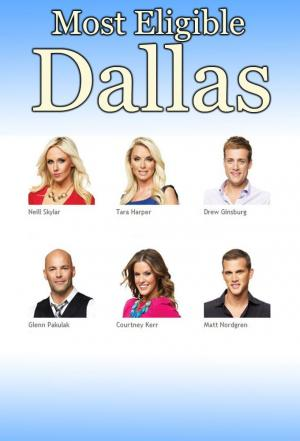Affiche Most Eligible Dallas