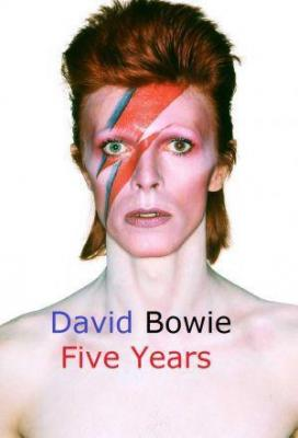 Affiche David Bowie - Five Years