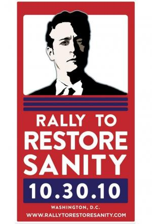 Affiche Rally To Restore Sanity And/Or Fear