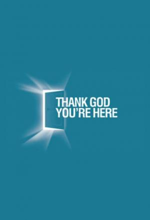 Affiche Thank God You're Here (US)