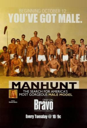Affiche Manhunt: The Search for America's Most Gorgeous Male Model