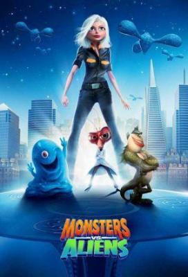 Affiche Monsters vs. Aliens