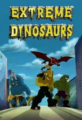 Affiche Extreme Dinosaurs