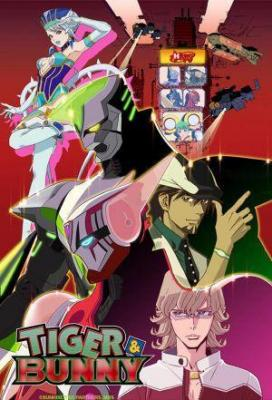 Affiche Tiger & Bunny