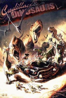 Affiche Cadillacs et dinosaures