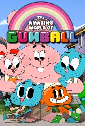 affiche Le Monde incroyable de Gumball