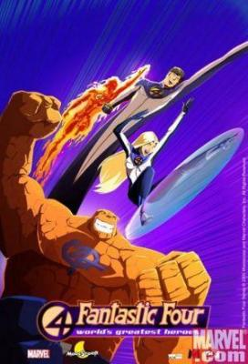affiche The New Fantastic Four
