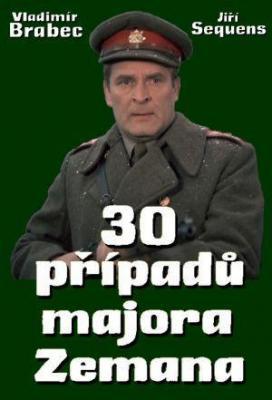affiche 30 cases of Major Zeman