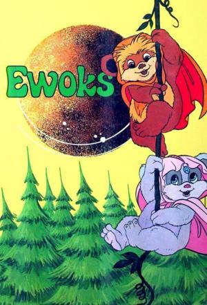 affiche Les Ewoks