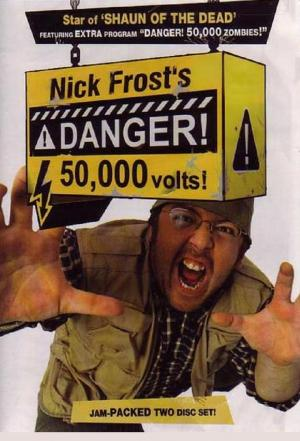 affiche Danger! 50,000 Volts!
