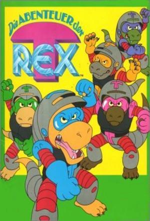 affiche Les aventures de T-Rex