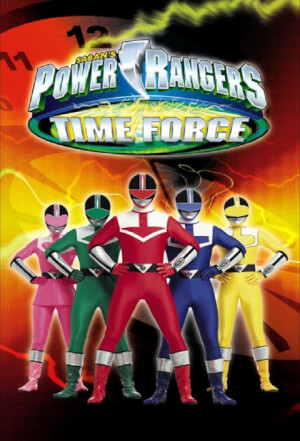 affiche Power Rangers Time Force