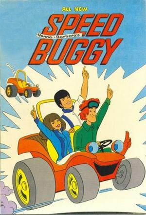 affiche Speed Buggy
