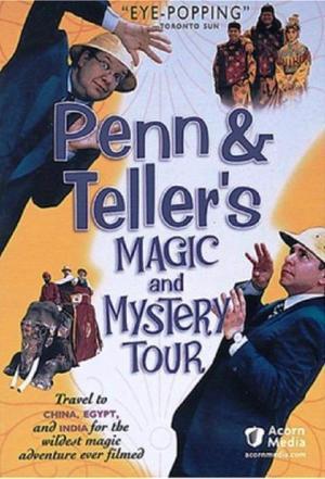affiche Penn & Teller Magic & Mystery Tour