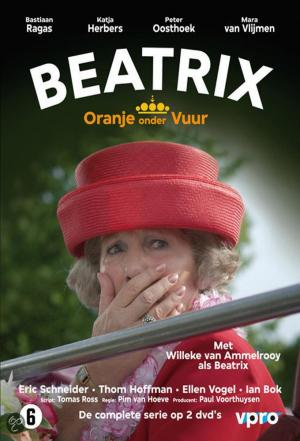 affiche Beatrix, Oranje onder vuur