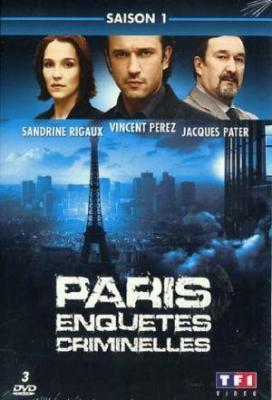 affiche Paris enquêtes criminelles