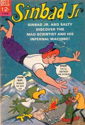affiche Sinbad Jr. and his Magic Belt