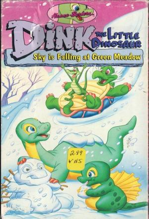 affiche Dink le petit dinosaure