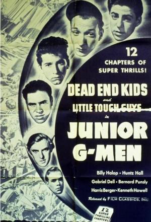 affiche Junior G-Men