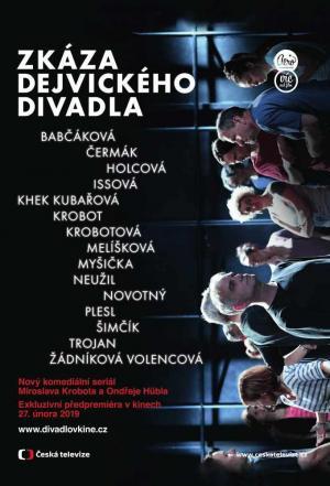 affiche Zkáza dejvického divadla