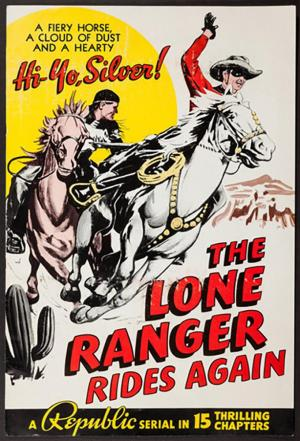 affiche The Lone Ranger Rides Again