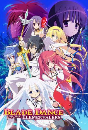 affiche Blade Dance of the Elementalers