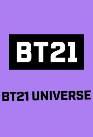 affiche BT21 UNIVERSE ANIMATION