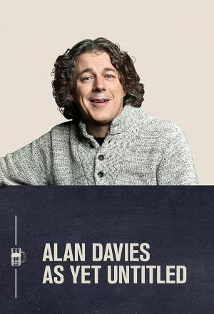 affiche Alan Davies As Yet Untitled