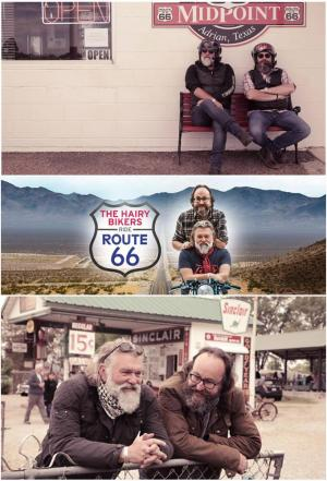 affiche Hairy Bikers: Route 66