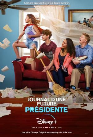 affiche Journal d'une Future Présidente