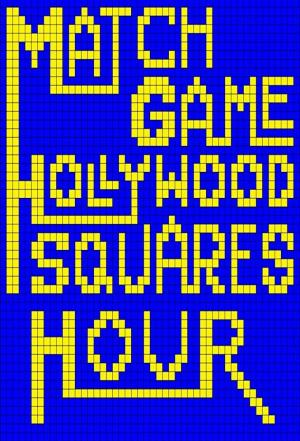 affiche Match Game/Hollywood Squares Hour
